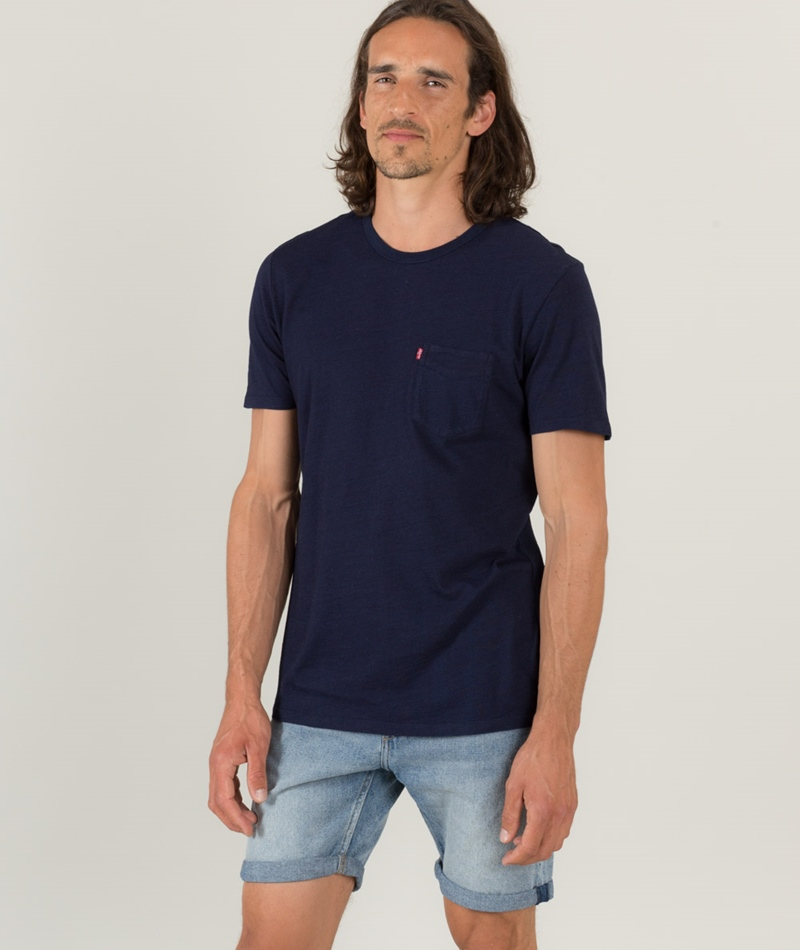 LEVIS SS Sunset Pocket T-Shirt indigo