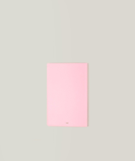 HAY Edge Notebook Soft pink