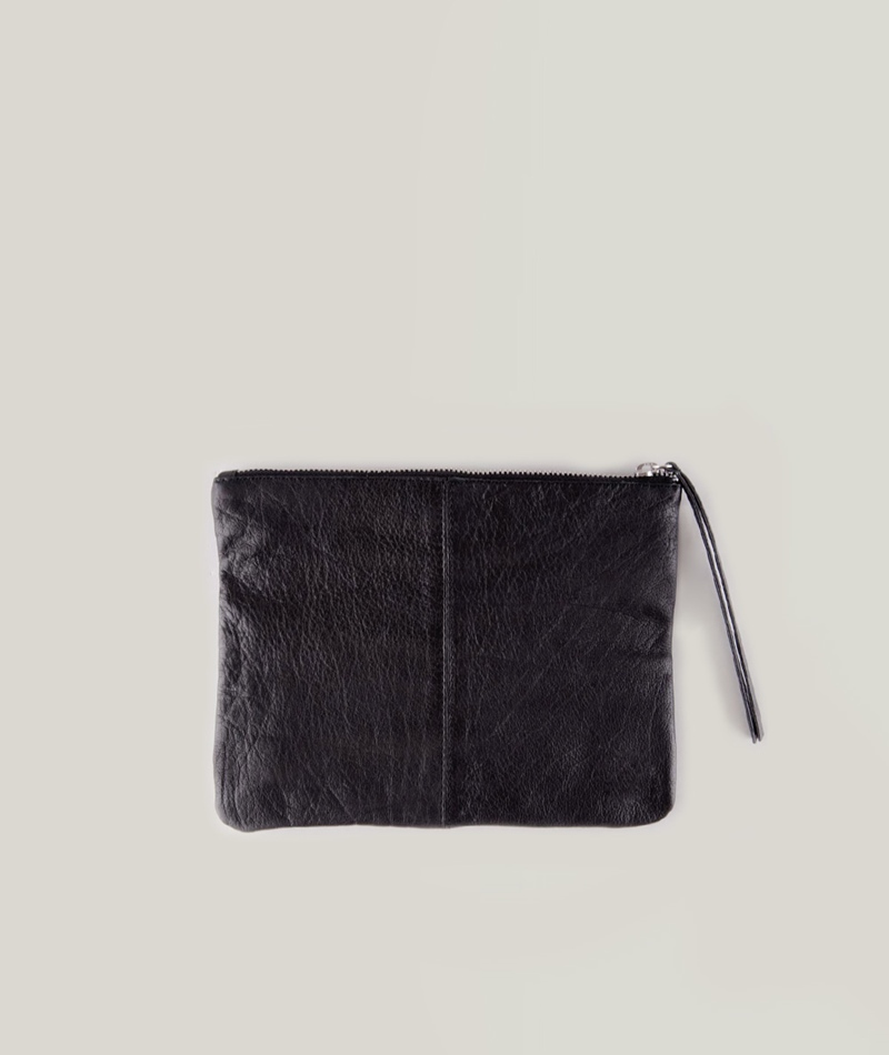 MOSS CPH Ninne Leather Clutch black