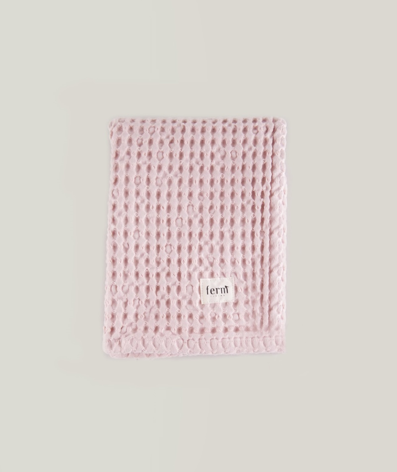 FERM Organic Hand Towel Rose