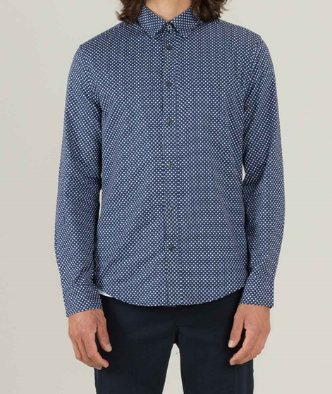 BEN SHERMAN Hemd dark navy