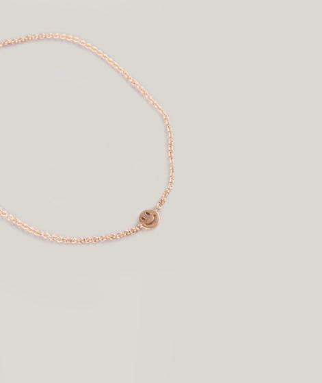 MOSS CPH Smiley Armband matte gold