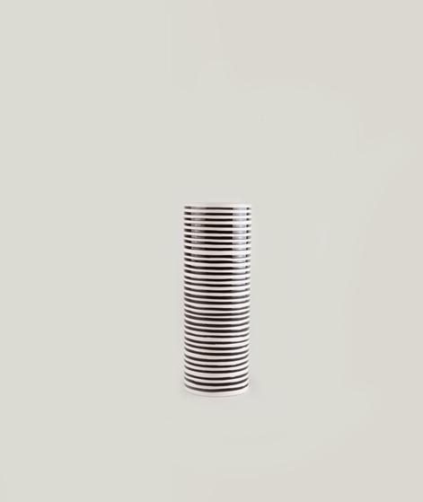 LIV Carol Vase Stripes Keramik