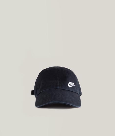 NIKE Futura Classic Cap black/white