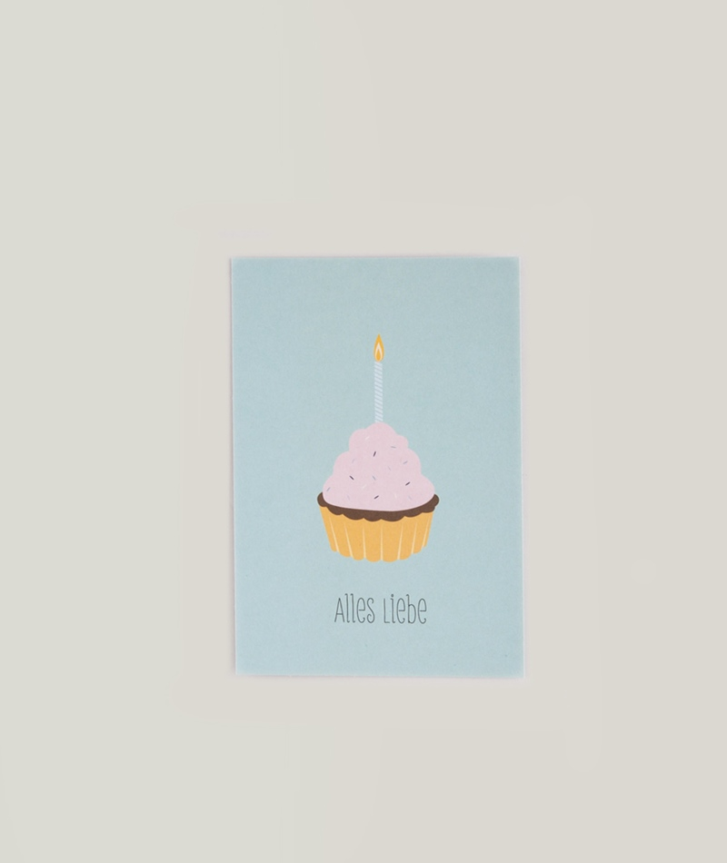 PAPIER AHOI Alles Liebe Postkarte