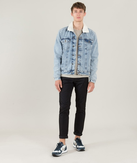 TOPMAN Acid Washed Casual Jacket