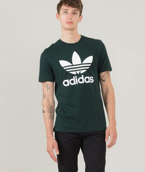 ADIDAS Orig Trefoil T-Shirt green night