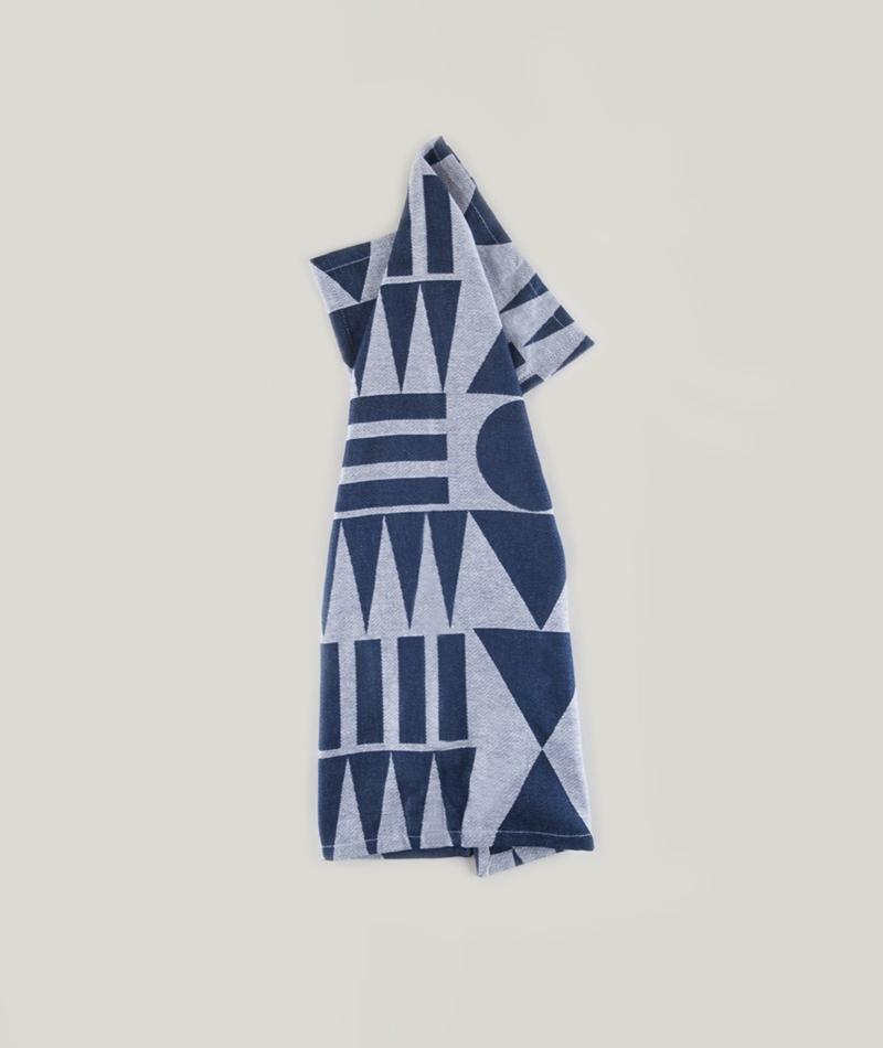 H. SKJALM P. Tea Towels Melvin indigo