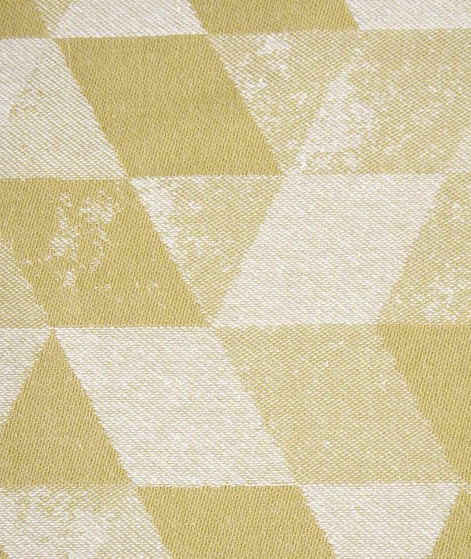 H. SKJALM P. Tea Towel Ravn senfgrün