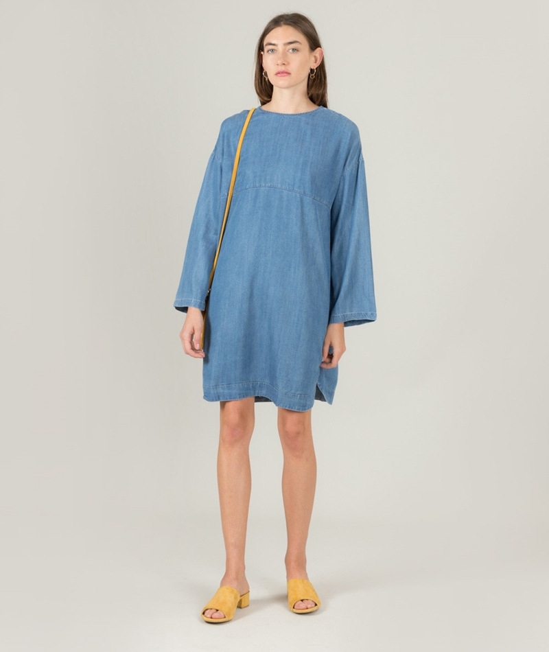 NATIVE YOUTH Zora Kleid indigo