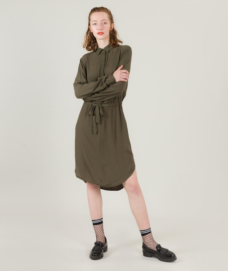 SELECTED FEMME SFNora Kleid forest night
