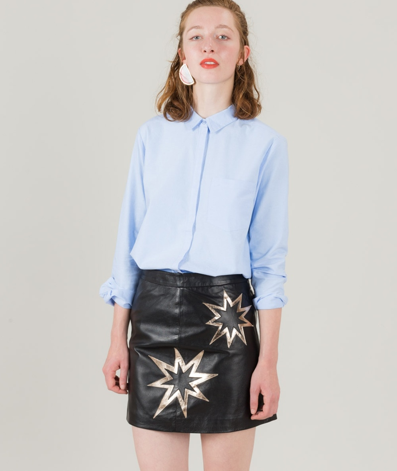 M BY M Caris Elino Bluse cool blue