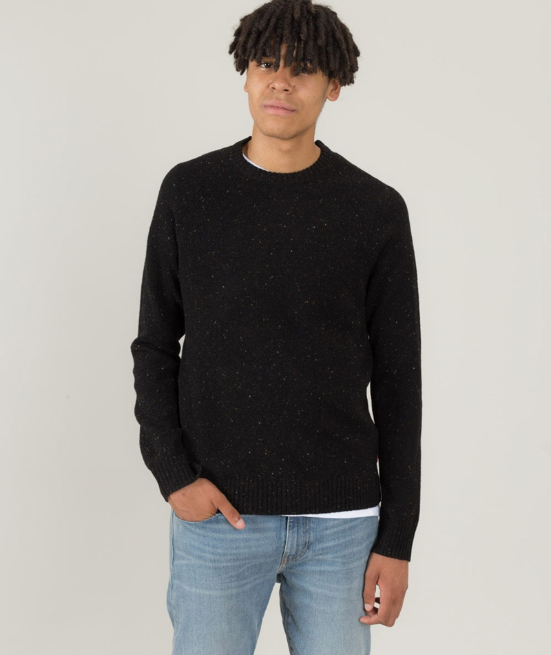 LEVI`S Hayes Crew Pullover black beauty
