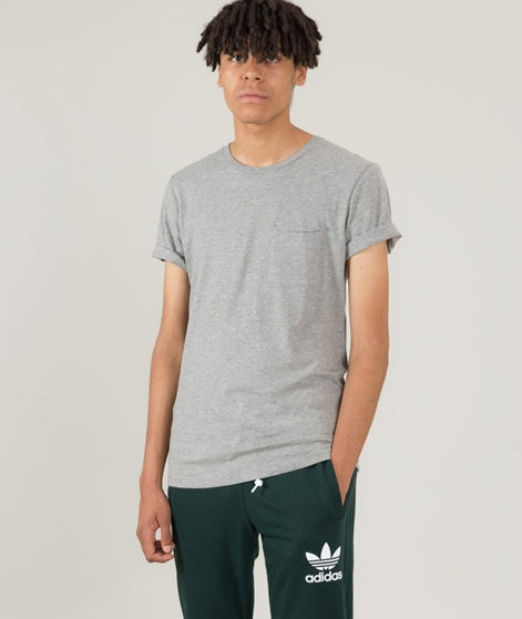 MINIMUM Nowa T-Shirt grey melange