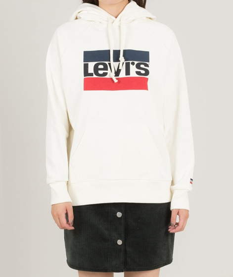 LEVI`S Graphic Sport Hoodie white