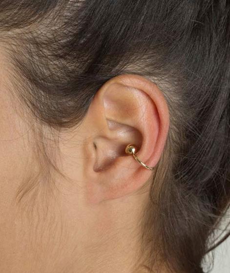 EBBA Lara Ear Cuff gold