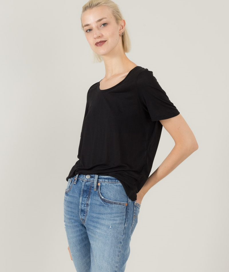 SELECTED FEMME SFLyro T-Shirt black