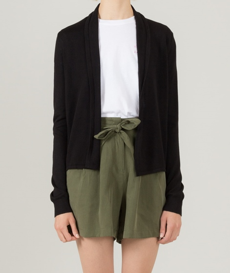 VILA Vilesly Short Cardigan black