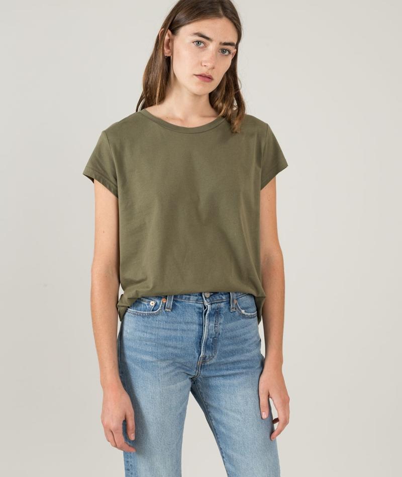 CHEAP MONDAY Have T-Shirt mud green