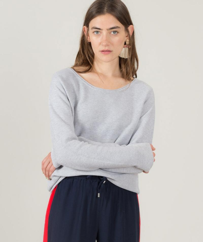 MINIMUM Adera Pullover light grey