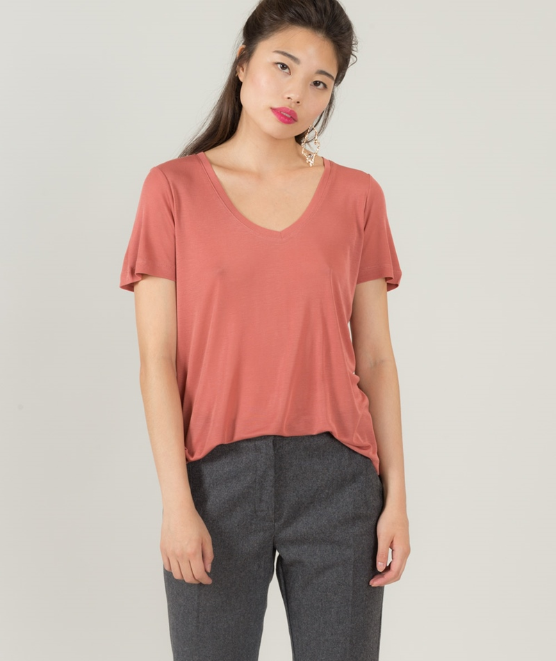 MINIMUM Jeanica T-Shirt ash