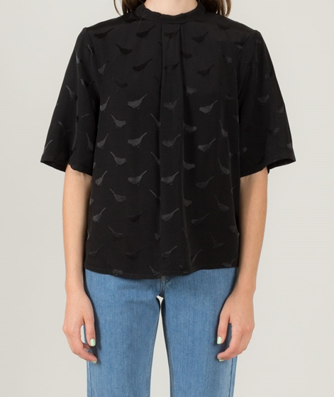 M BY M Leila Birdy Bluse black