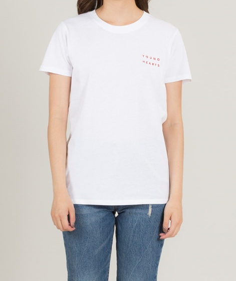 POP CPH Young Hearts T-Shirt white