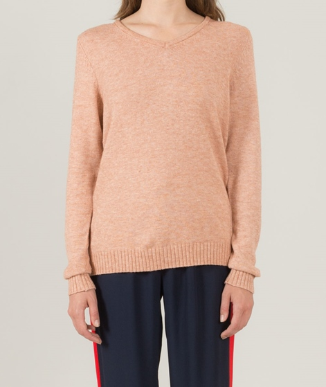 VILA Viril V-Neck Pullover rose dawn