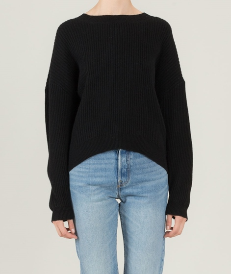 JUST FEMALE Corn Knit Pullover black