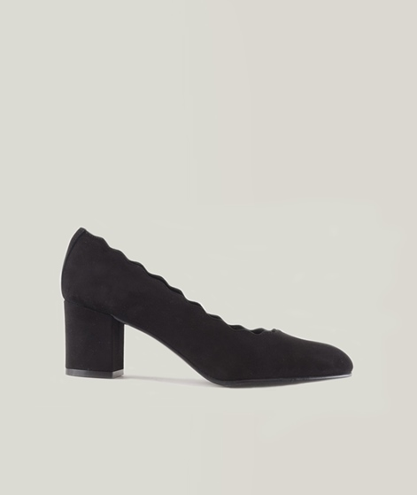 KMB A1165 Veda Schuhe ante negro