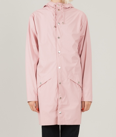 RAINS Long Jacke rose