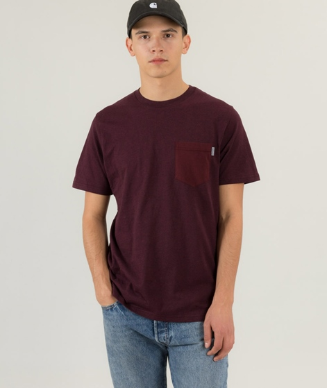 CARHARTT Contrast Pocket T-Shirt amarone