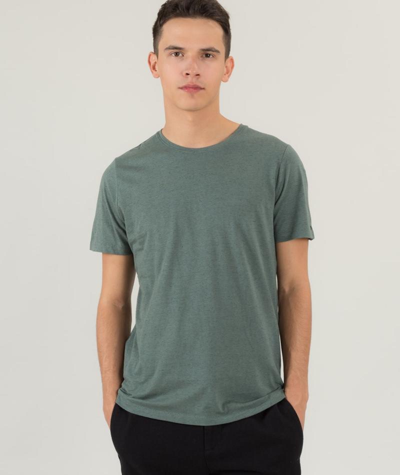 NOWADAYS Striped Melange T-Shirt