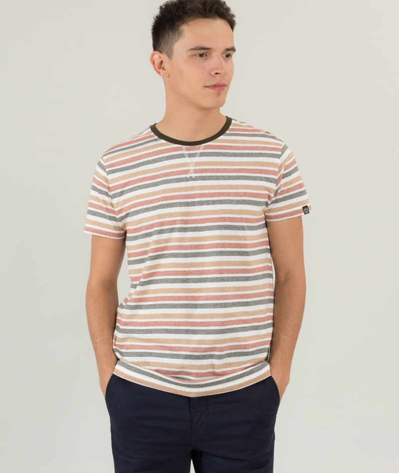 SOLID Jadis T-Shirt gestreift