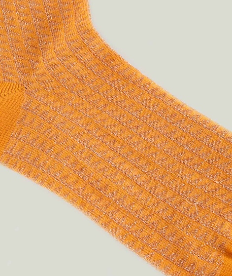 MP DENMARK Ingeborg Socken dark honey