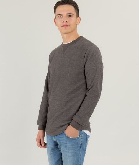 WEMOTO Melton Pullover dark grey