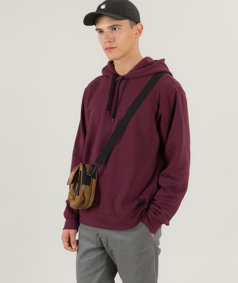 CHEAP MONDAY Hood Pullover darkest red
