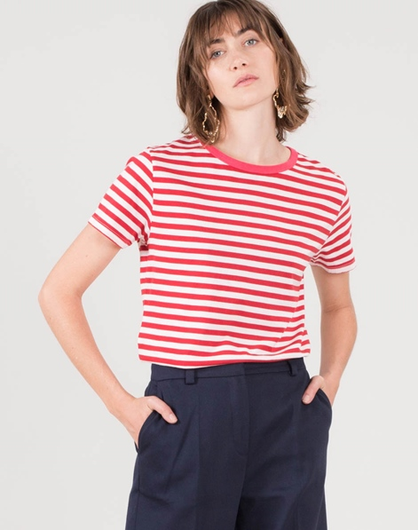 KAUF DICH GLÜCKLICH Maja T-Shirt corall