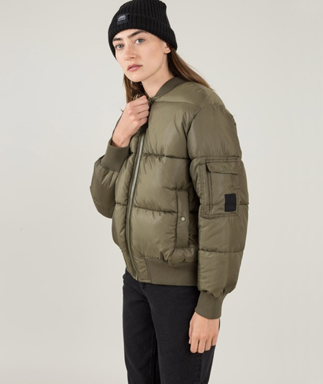 CHEAP MONDAY Risky Bomber mud green