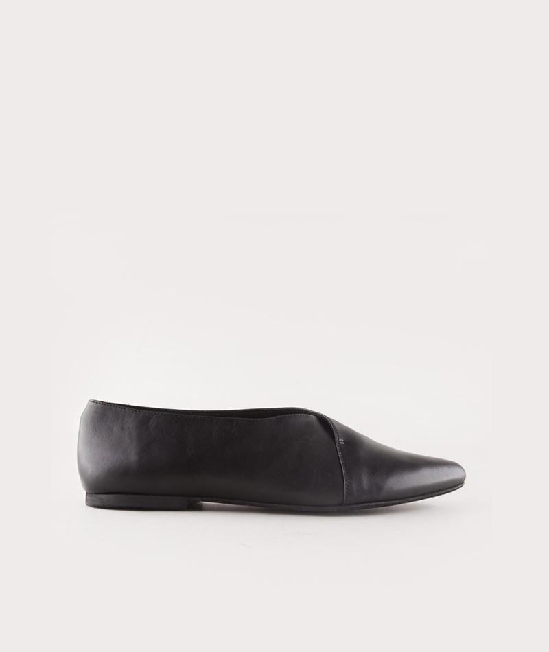 KMB A1445 Pan Schuhe nappa negro