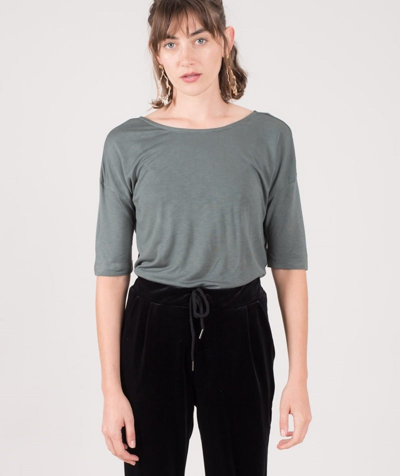 KAUF DICH GLUCKLICH Ela T-Shirt misty mint