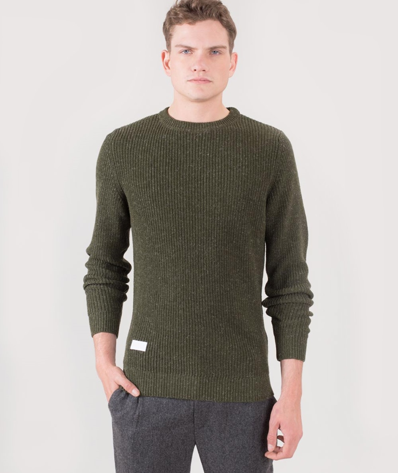 ONTOUR Rope Pullover army leaf