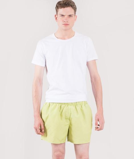TOPMAN Green Marl Print Badeshorts