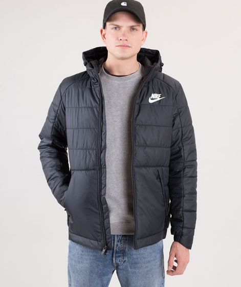 NIKE Filled Jacke black