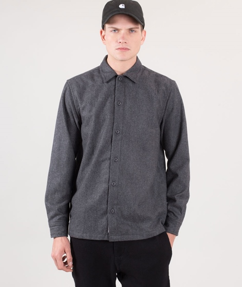 CARHARTT Stover Hemd dark grey heather
