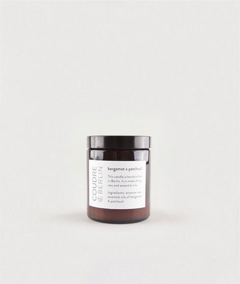 COUDRE BERLIN Duftkerze bergamotte/patch