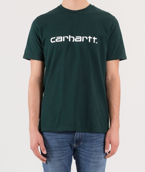 CARHARTT Script T-Shirt parsley