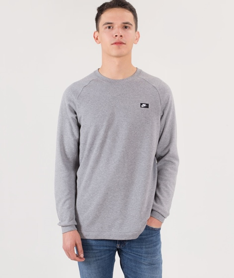 NIKE Modern Crew Pullover carbon heather