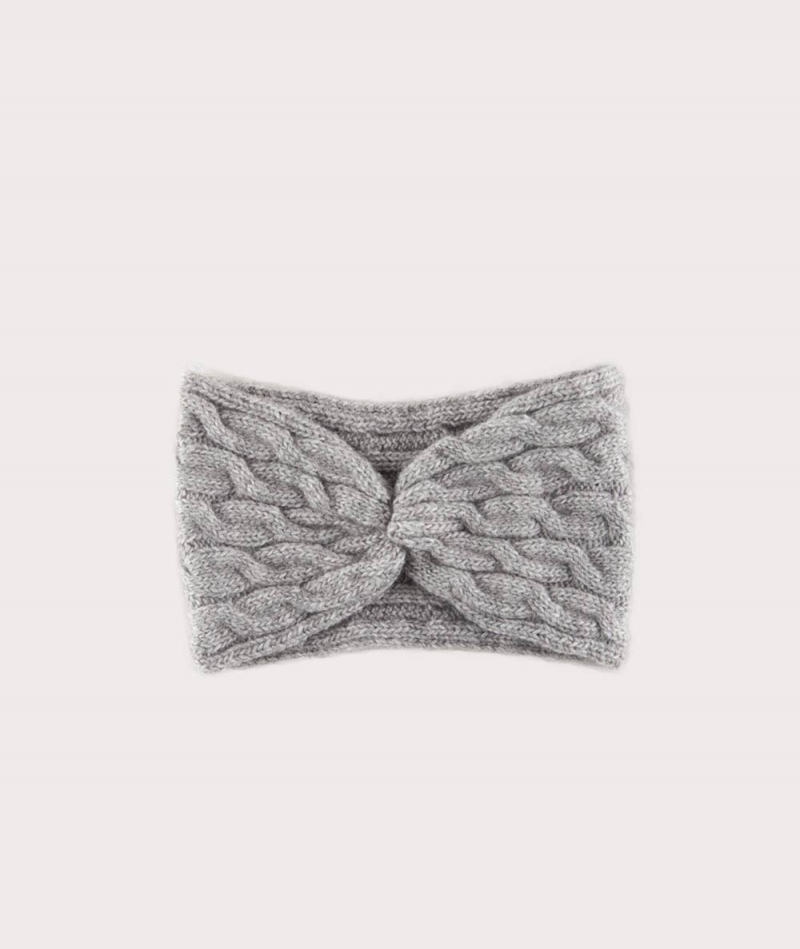KAUF DICH GLUCKLICH Milla Stirnband gray
