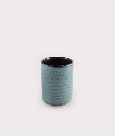 MADAM STOLTZ Ceramic Cup grey klein